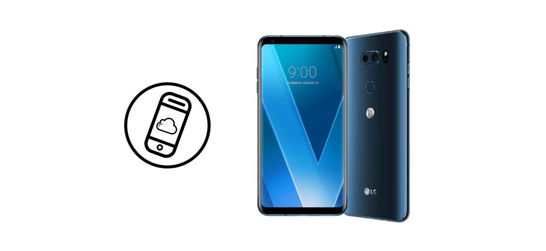 LG V30 header