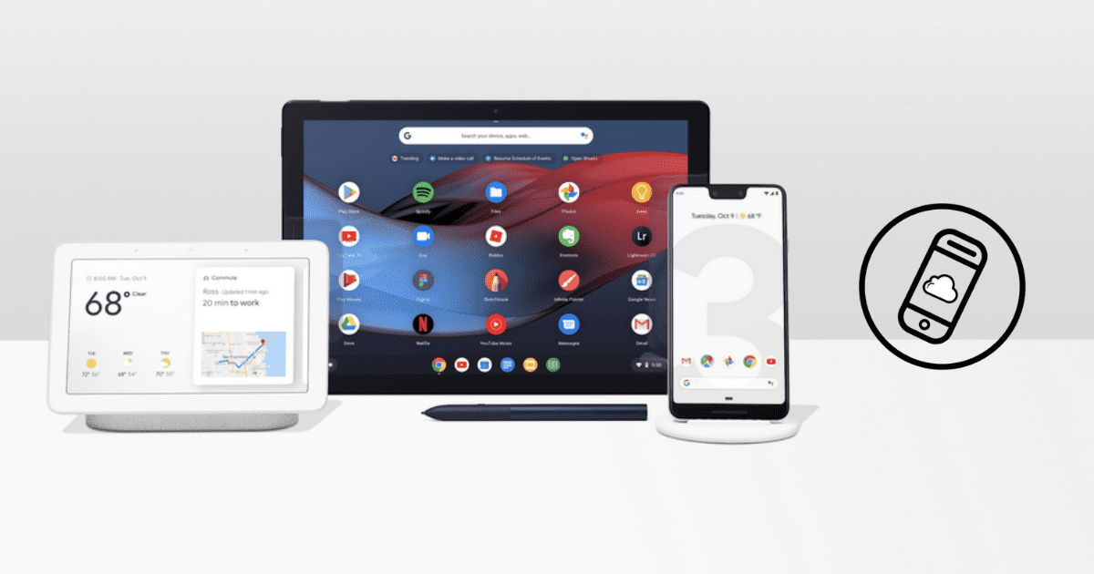 Google October 2018 Event Header