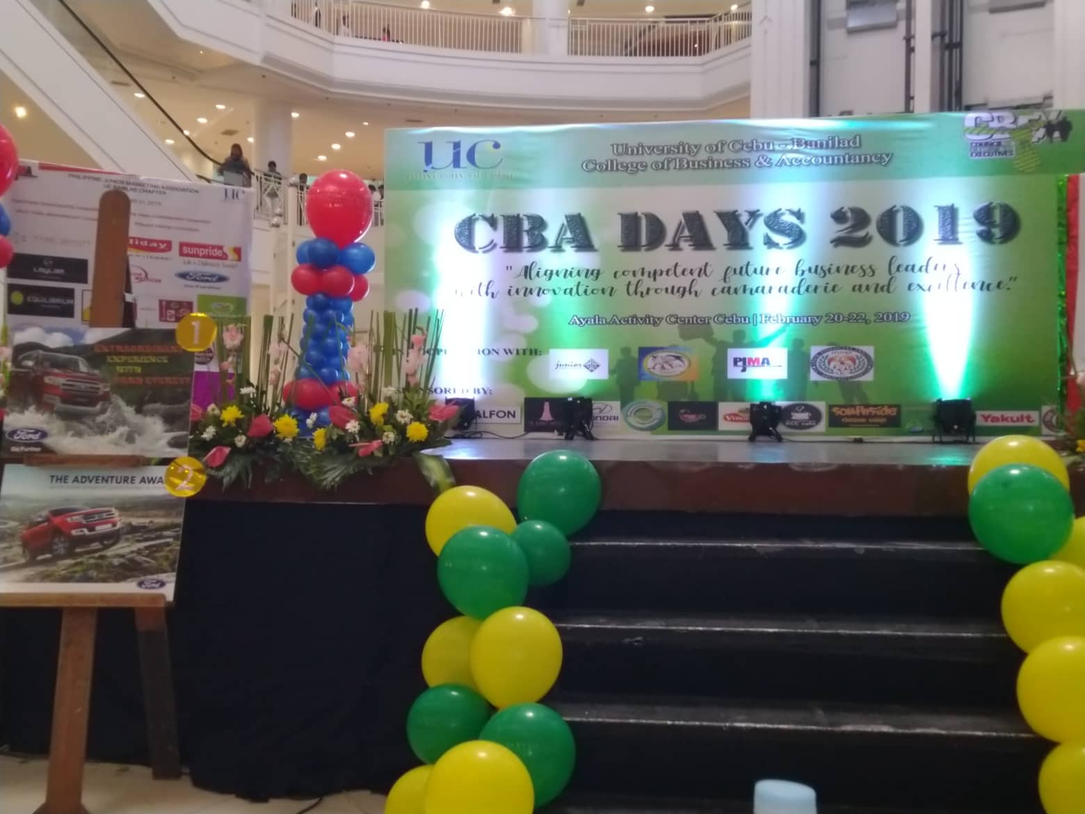 The Spot Supports UC CBA Days 2019!