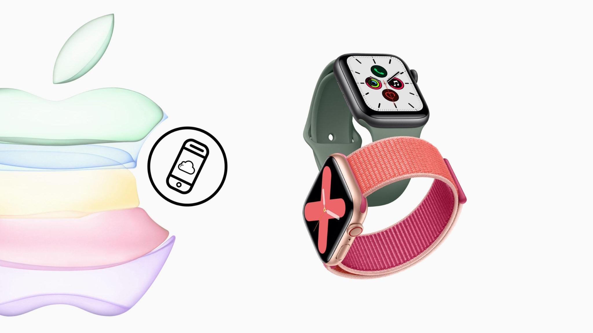 Apple Watch Series 5 Header