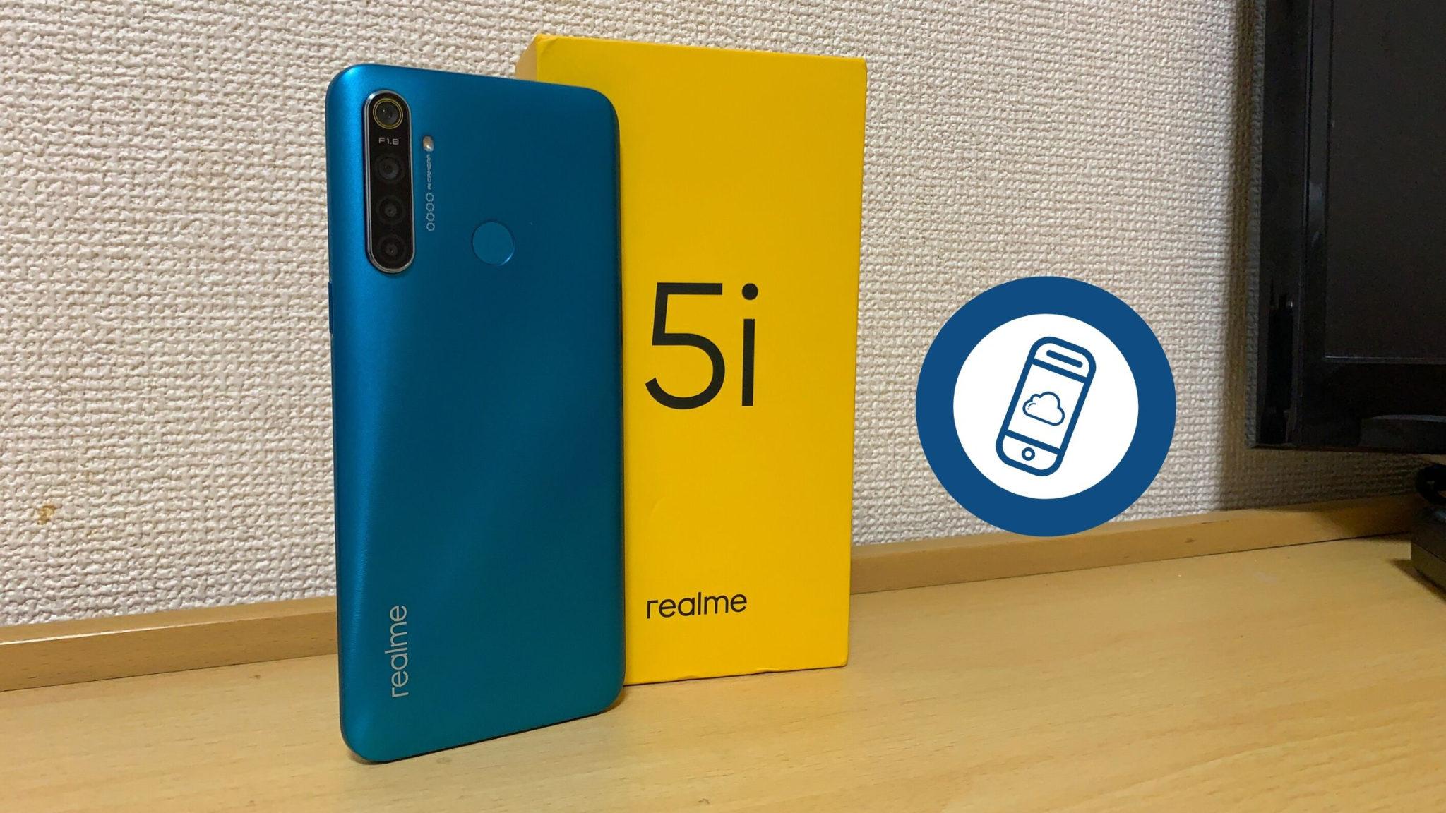 Realme 5i Review Header