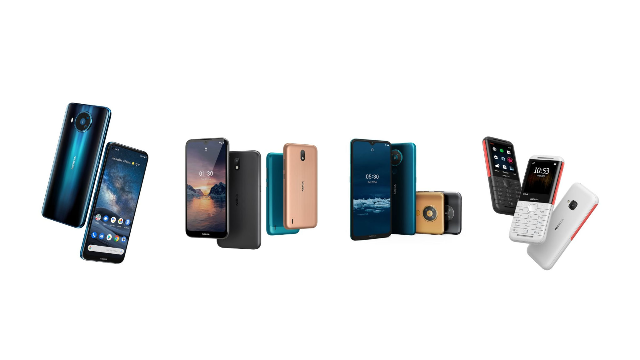 Nokia 8.3 5G and More Header