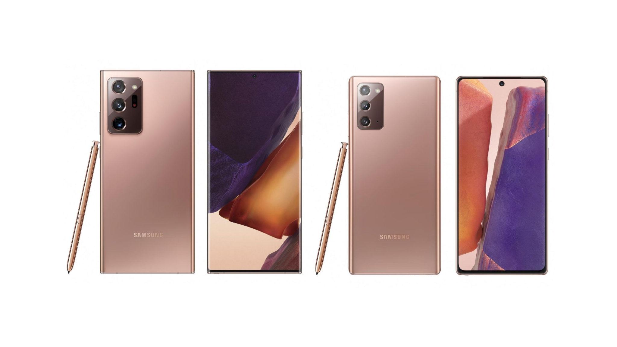 Samsung Galaxy Note 20 Phones Header