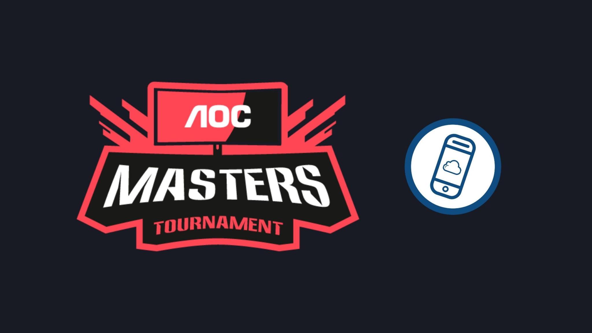 AOC Masters Tournament Header