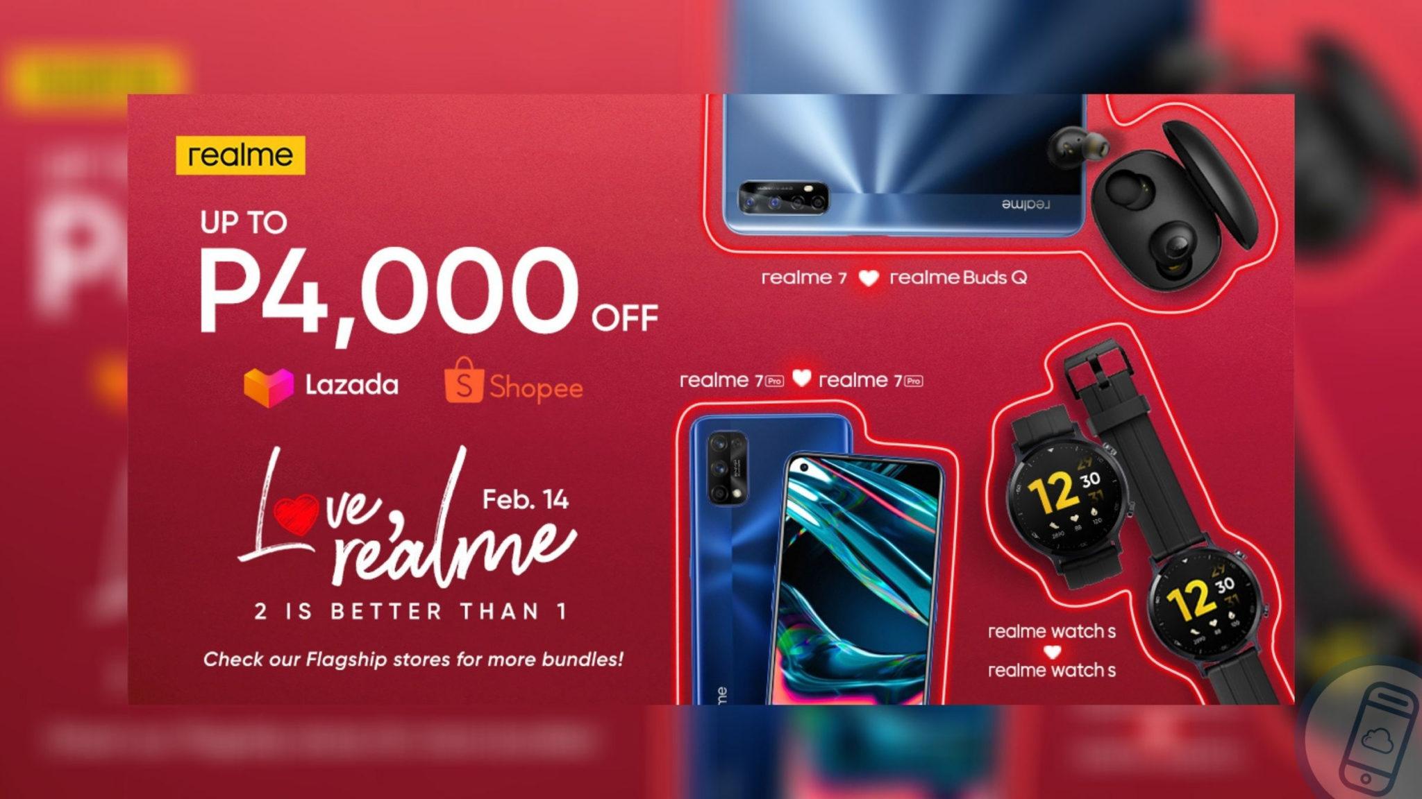 realme PH Launches Valentine's Day Bundles Header
