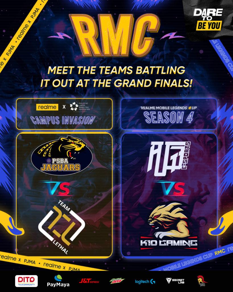 realme fan festival 2021 - realme mobile legends cup season 4