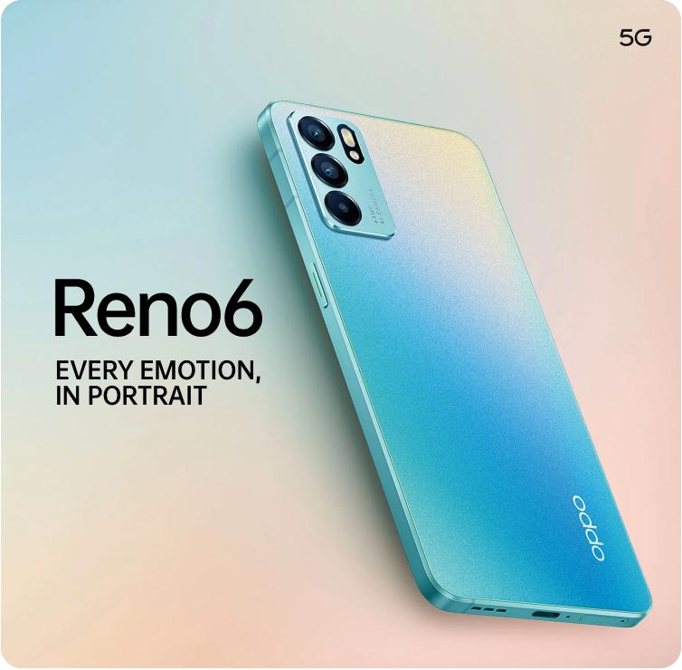 OPPO Reno6 Series - Reno6 5G