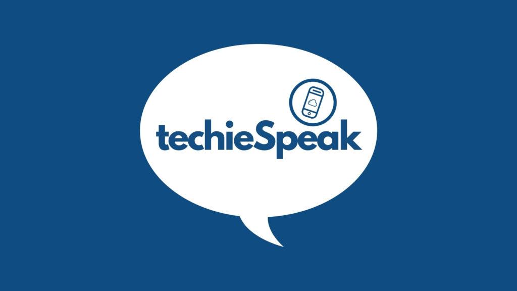 TechieSpeak Launch Header