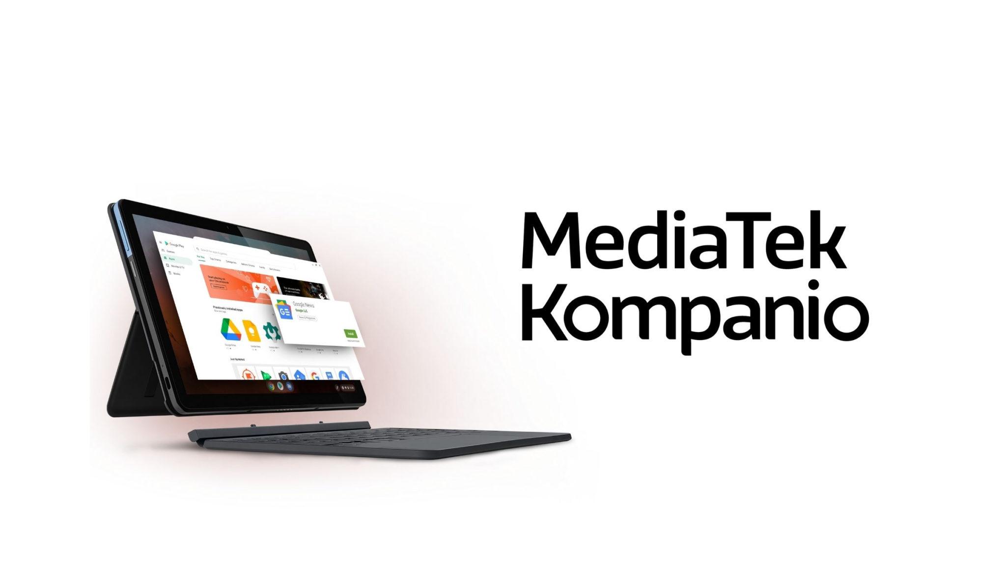 MediaTek Kompanio 900T Launch Header
