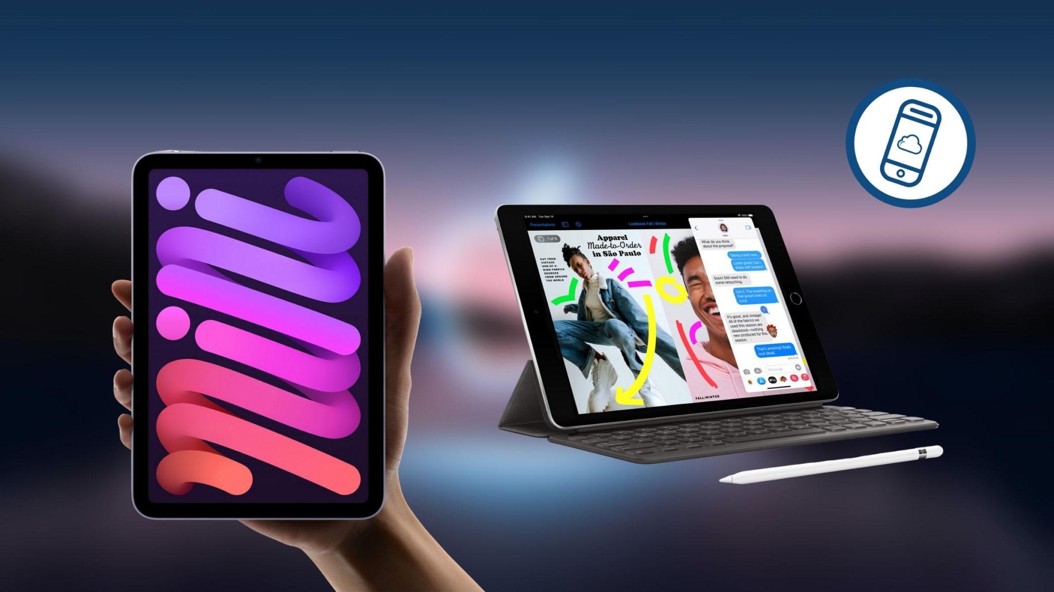 New iPad mini and 9th-gen iPad