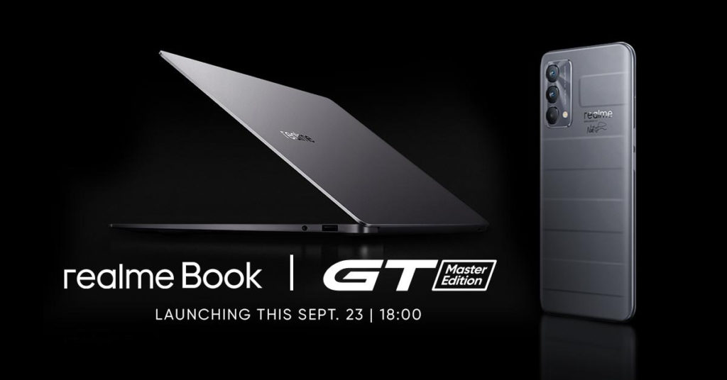 realme GT Master Edition and realme Book Coming on September 23!