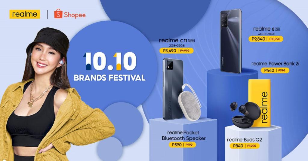 realme Devices 10.10 Sale - Shopee