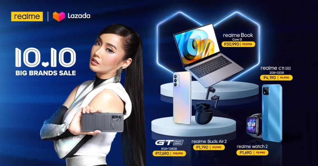realme Devices 10.10 Sale - Lazada