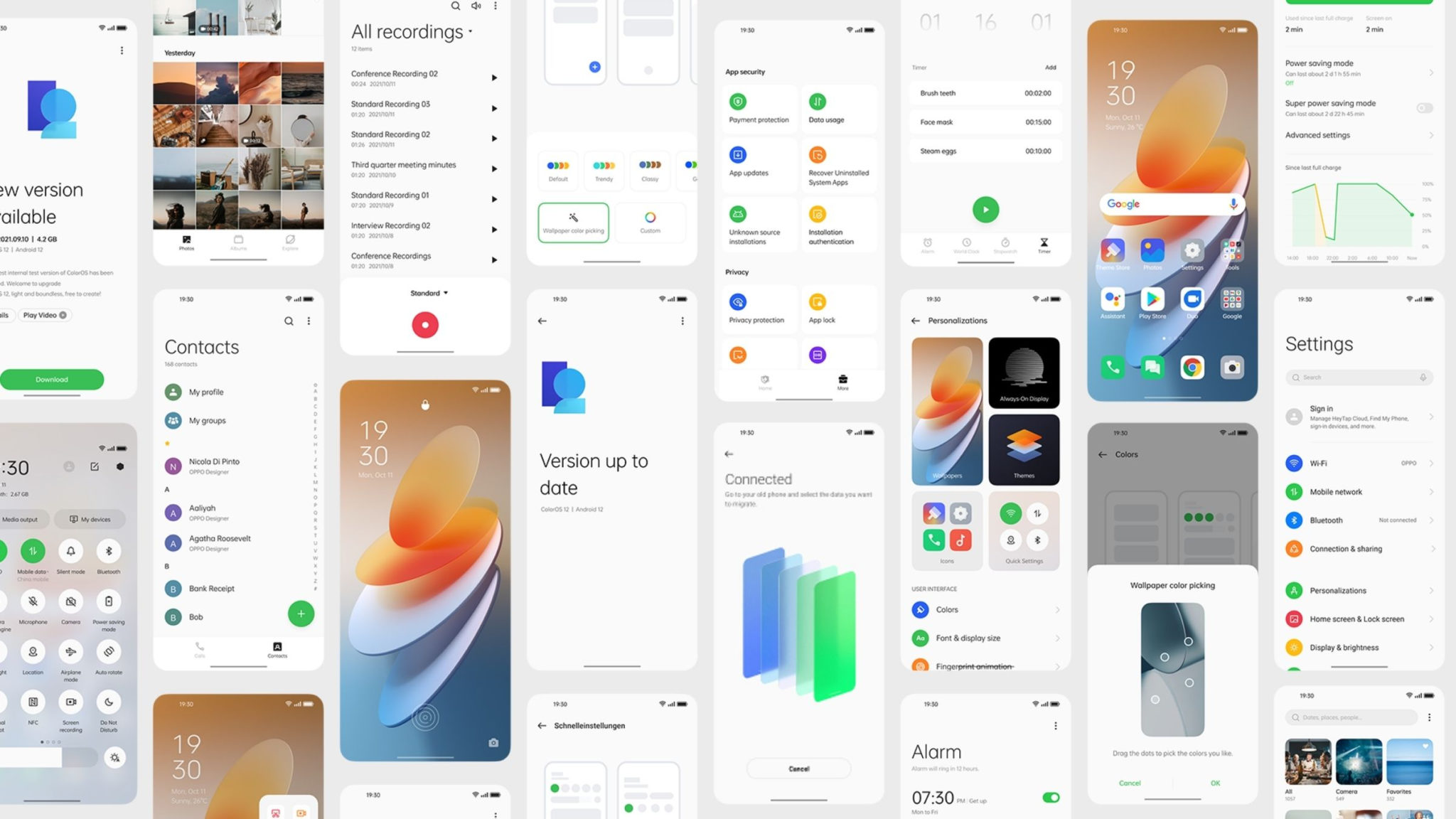 OPPO ColorOS 12 Launch Header