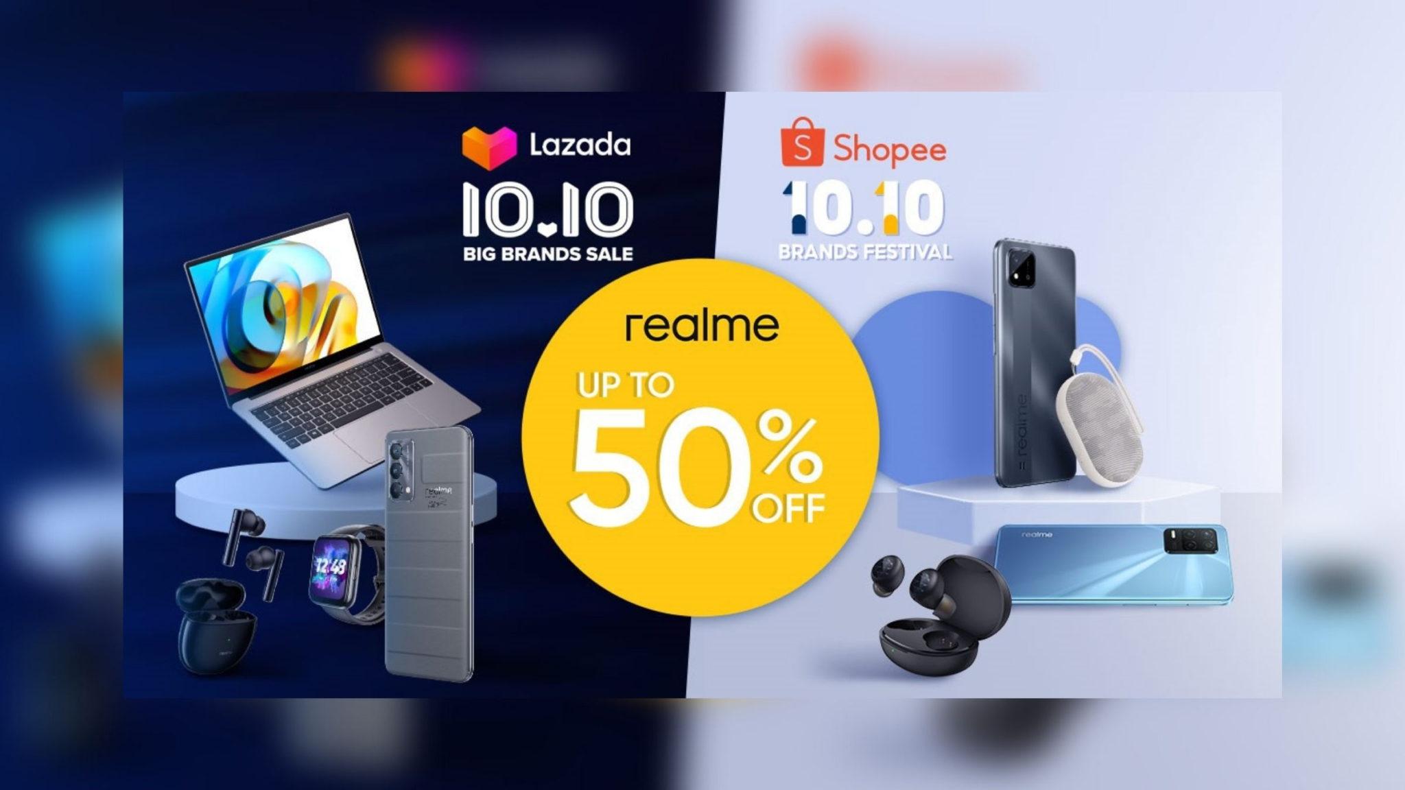 realme Devices 10.10 Sale Header