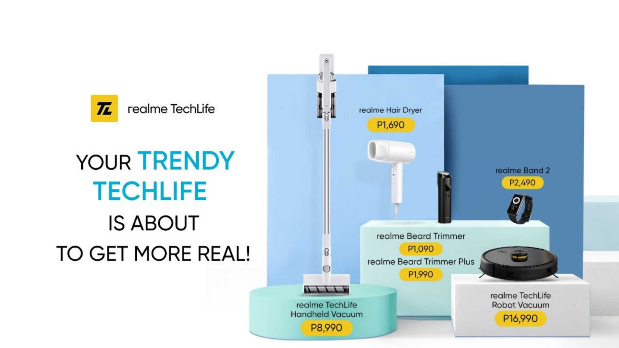 realme TechLife Devices Philippines Header