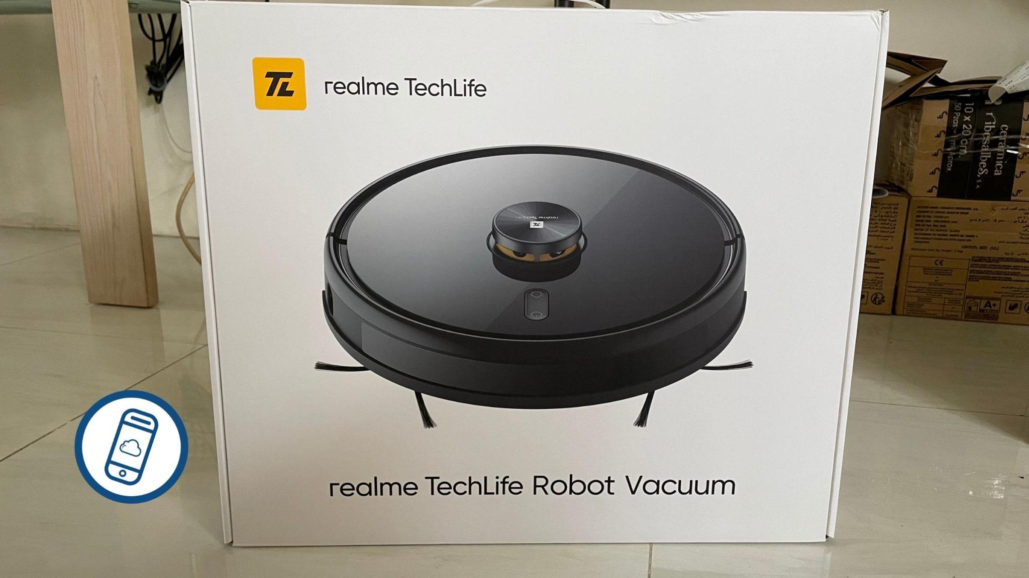 realme TechLife Robot Vacuum First Impressions Header